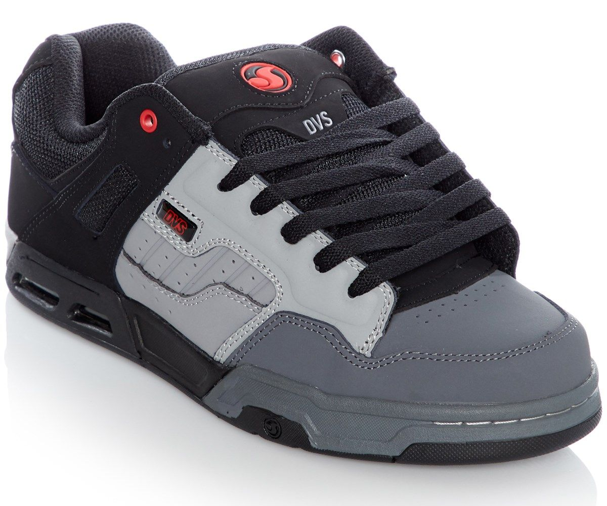 dvs Pánské boty enduro heir charcoal grey black leather 48.5