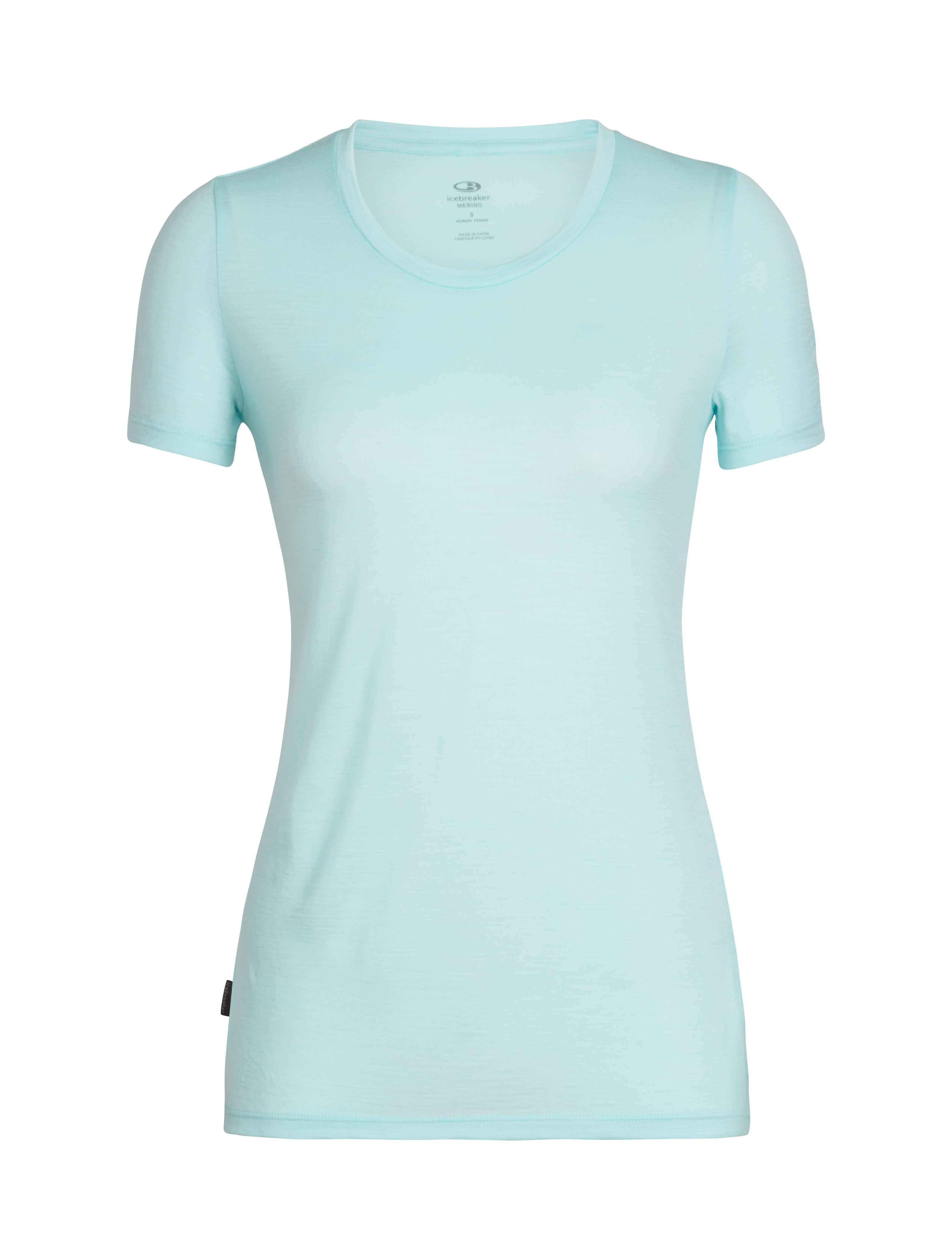Icebreaker Tech Lite SS Low Crewe Wavelogo T-Shirt Donna