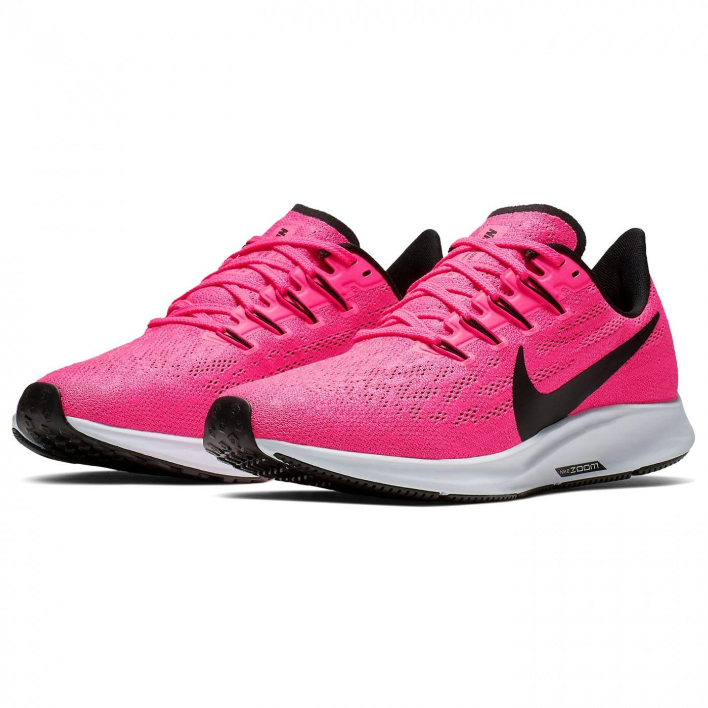 cheap for discount 75cf5 00c74 Nike Air Zoom Pegasus 36 Ladies Running Shoes Pink/Black