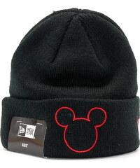 227331b040625 Dětský Kulich New Era Disney Knit Mickey Mouse Infant Black/Scarlet