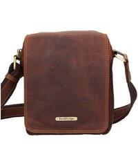 8fe0b5ae7572b Sendi Design Pánská kožená taška přes rameno SendiDesign Patrik - hnědá