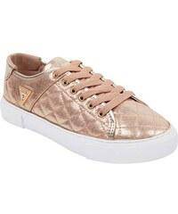 01c487e6fc13a GUESS tenisky Blume Low-Top Sneakers zlaté. - Glami.cz