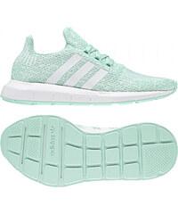 9d624c07a Dětské tenisky adidas Originals SWIFT RUN J (Světle zelená / Bílá / Zelená)