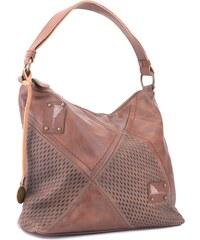 f4b82463d Tapple Hnědá stylová elegantní dámská kabelka přes rameno Landie