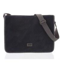 964a3163361cd Tmavě hnědá moderní pánská taška přes rameno - Lee Cooper Adrastos ...