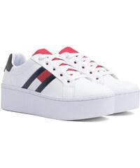 4465081af Tommy Hilfiger bílé tenisky na platformě Tommy Jeans Icon Sneaker RWB - 41
