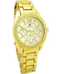 fa94ddd08 Luxusní elegantní pánské zlaté švýcarské hodinky 585/77,70gr GENEVE ...