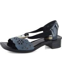 10af21c7beea0 Tmavě modré dámské sandály | 1 470 kousků na jednom místě - Glami.cz