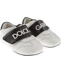 30a505bfa9fcf Dolce & Gabbana Kojenecké boty pro kluky Ve výprodeji, Bílá, Kůže, 2019,