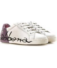d0cc9517ee03c Dolce & Gabbana Dětské boty pro dívky Ve výprodeji v Outletu, Bílá, Kůže,
