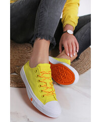 9b0c577c6 Converse Dámské oranžovo-žluté nízké tenisky Chuck Taylor All star