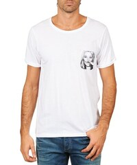 9ab94acf Eleven Paris T-Shirt with Oversized Mickey Mouse Print - White ...