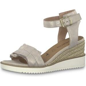 Dámské hnědé sandály TAMARIS 1 1 28013 32 COGNAC 305 1 1