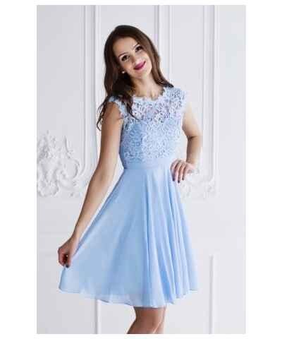 38dde647d Modré, plesové, krátké šaty | 250 kousků na jednom místě - Glami.cz