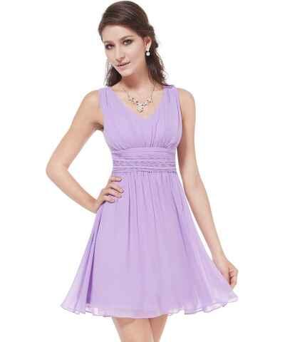 bc1f3dc97 Kolekce Ever Pretty, modré, jednobarevné, maturitní, společenské, krátké  šaty pro plnoštíhlé z obchodu Trendy-Obleceni.cz - Glami.cz