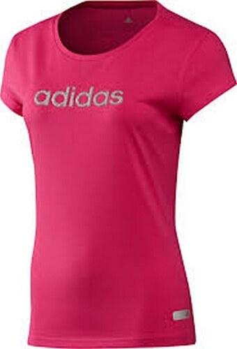 Dámské růžové tričko ADIDAS - Z33210 - Glami.cz