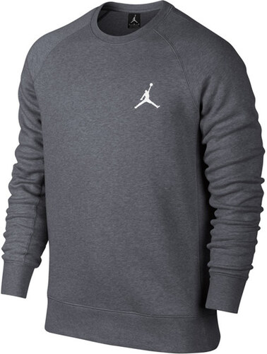 71c83e589 Mikina Air Jordan Flight Crew Sweatshirt Carbon Grey - Glami.cz