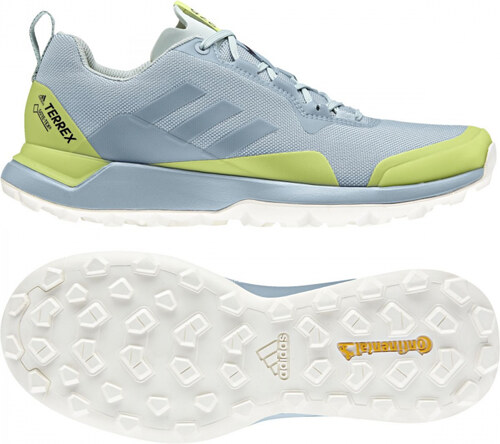 23a3c9c77 Dámské běžecké boty adidas Performance TERREX CMTK GTX W (Světle modrá /  Žlutá)