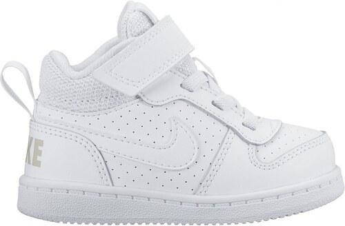 37a0602ba Dětské Tenisky Nike COURT BOROUGH MID (TDV) WHITE/WHITE - Glami.cz