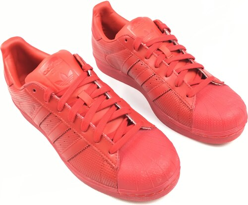 Pánské boty adidas Originals Superstar Adicolor Červené ...
