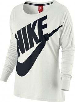 Dámské tričko s dlouhým rukávem - Nike SIGNAL LS TEE sail ...