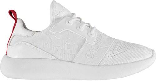 ce06438a9 Dámské boty Calvin Klein Meryl Knit Bílé - Glami.cz