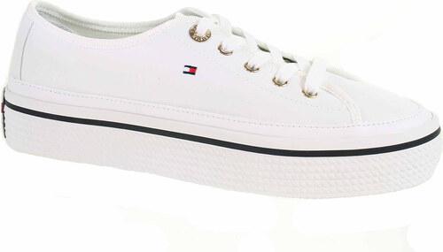 60d13378d Dámská obuv Tommy Hilfiger FW0FW04259 white FW0FW04259 100 - Glami.cz