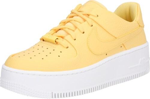 Nike Sportswear Tenisky 'Air Force 1 Sage' žlutá / bílá ...