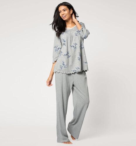 Bestbewertet echt neueste kaufen baby C&A Damen Pyjama in grau von Lingerie - Glami.cz