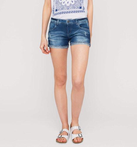2019 Neupreis später Luxus kaufen C&A Damen Jeans-Shorts in blau von Clockhouse - Glami.cz