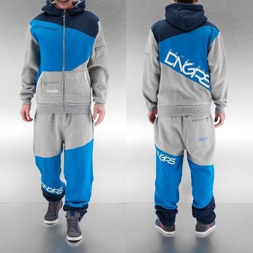 c2fe926016 Dangerous DNGRS Sweat Suit Grey/Blue/Denim - Glami.cz