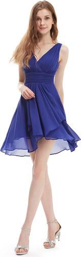 5e068f125 Ever Pretty šifonové šaty krátké modré 3644 - Glami.cz