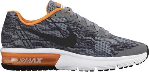 b75a6569b Dětské boty Nike AIR MAX SEQUENT PRINT (GS) COOL GREY/REFLECT SILVER ...