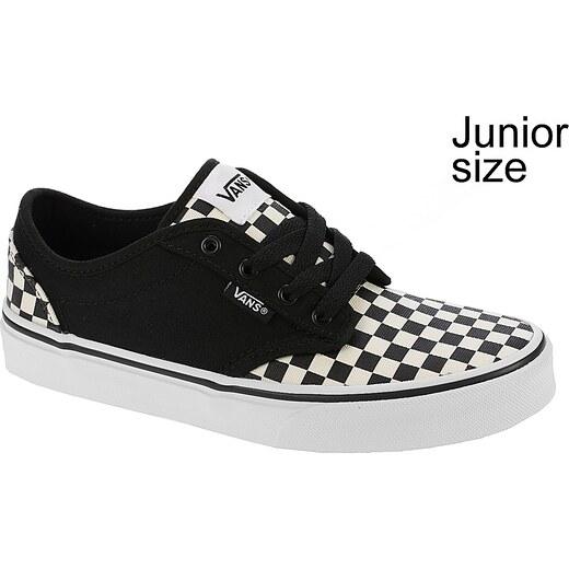 e18671420 dětské boty Vans Atwood - Checkerboard/Black/Classic White - Glami.cz