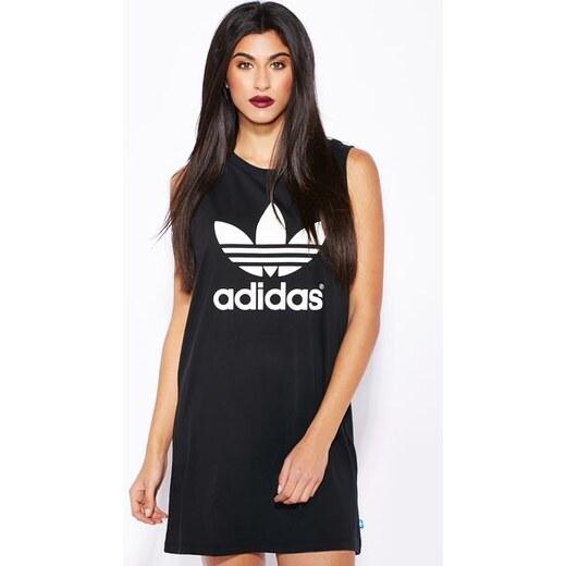 Dámské šaty triko adidas Originals Trefoil Tank Dress - Glami.cz