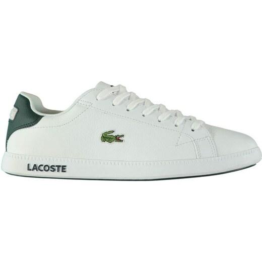 02dcb4a06 Pánské boty Lacoste Graduate LCR Bílé - Glami.cz