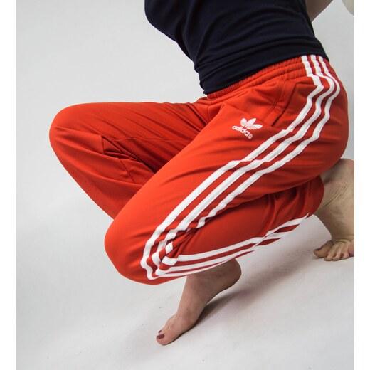 Dámské tepláky adidas Originals Tepp Červené - Glami.cz