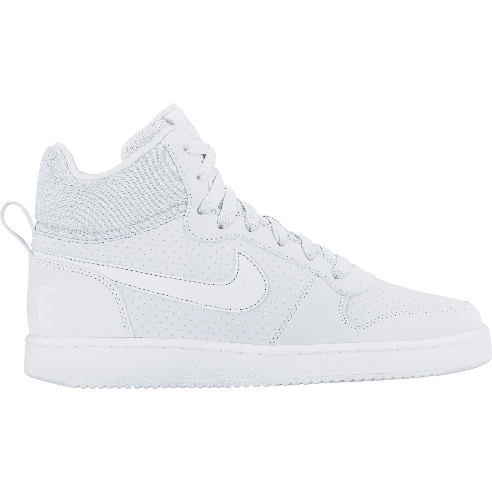 cc3ccf08b Dámské boty Nike WMNS COURT BOROUGH MID WHITE/WHITE-WHITE - Glami.cz